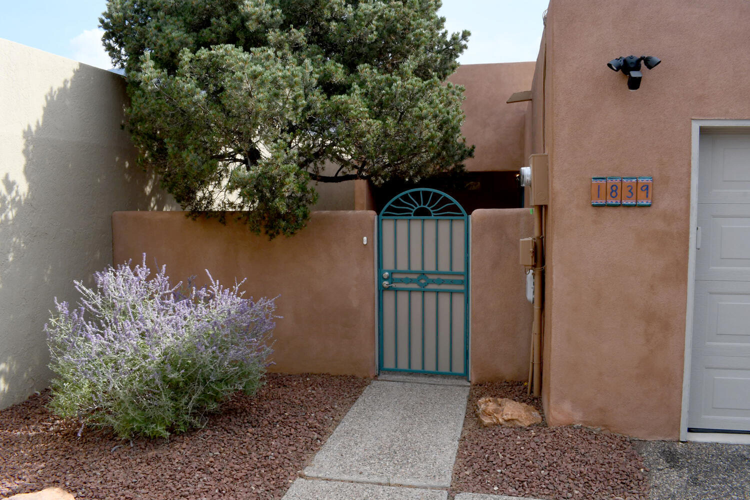 Nestled in the Northeast Heights is this charming home with breathtaking views of the Sandias. Your backyard decked patio will be a special place to soak in the view. All aspects of the home have been touched with care and many improvements throughout. Home has a 5 year Choice Home Warranty remaining for the lucky buyer.