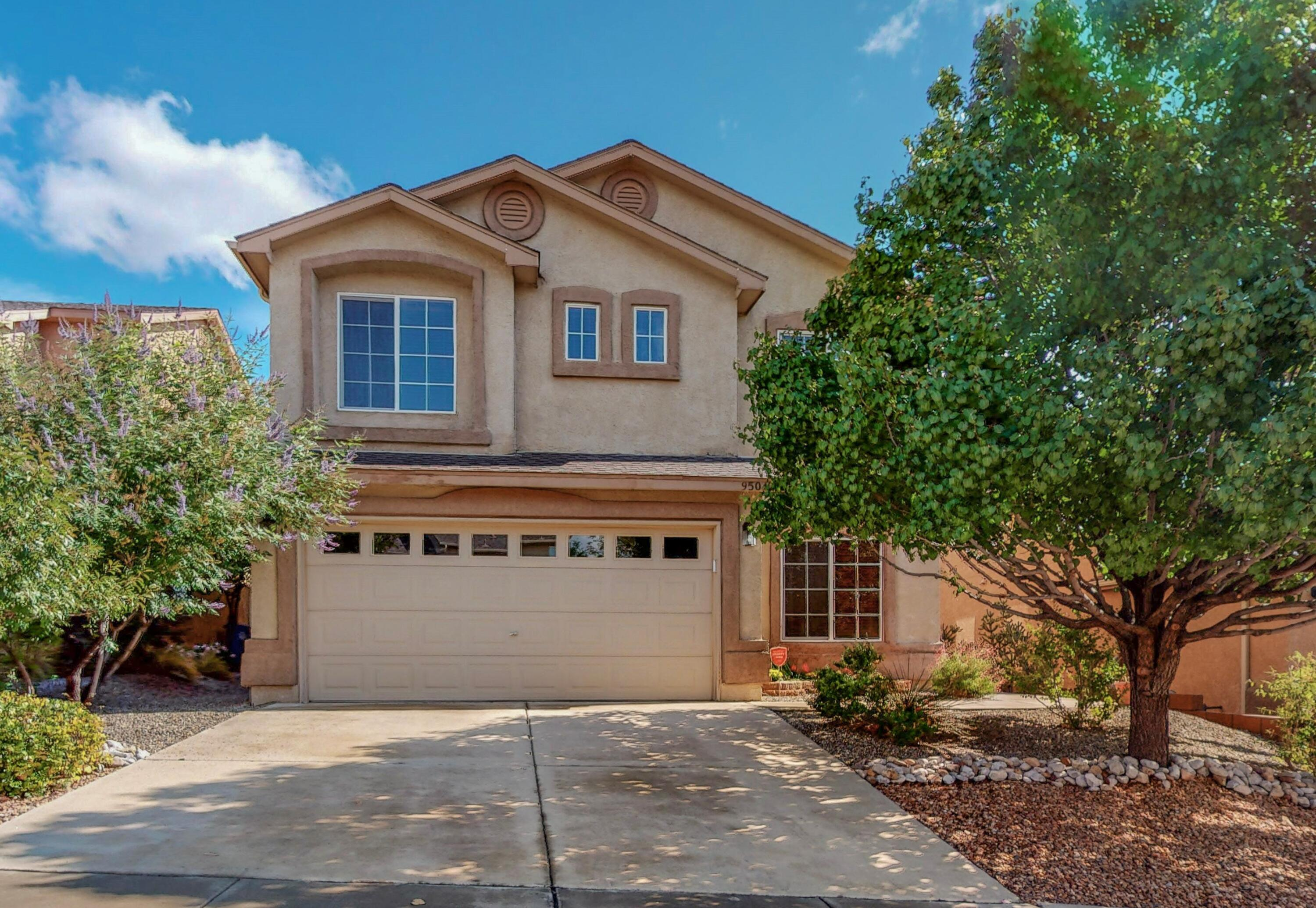 Enjoy breathtaking panoramic million dollar mountain and city views while relaxing in your back yard or upper deck. Light bright airy floor plan. Plenty of storage to keep neat & organized. Stylish foyer with tile medallion. Main level bonus office/room with French Doors. 3/4 bath quartz surface. Upstairs bathrooms have quartz surface! Bright cheerful kitchen includes kitchen bar with quartz countertops, plenty of storage & walk-in pantry! Nice size dining room with gorgeous views. Large master suite, high ceilings, more views, & romantic fireplace. Large loft! Immaculate condition inside and out! Recent updates include a dishwasher, Hot water heater, garage opener & kitchen faucet! Private backyard includes turf, flower bed & water fountain.  Everything on auto drip. This home is a gem!