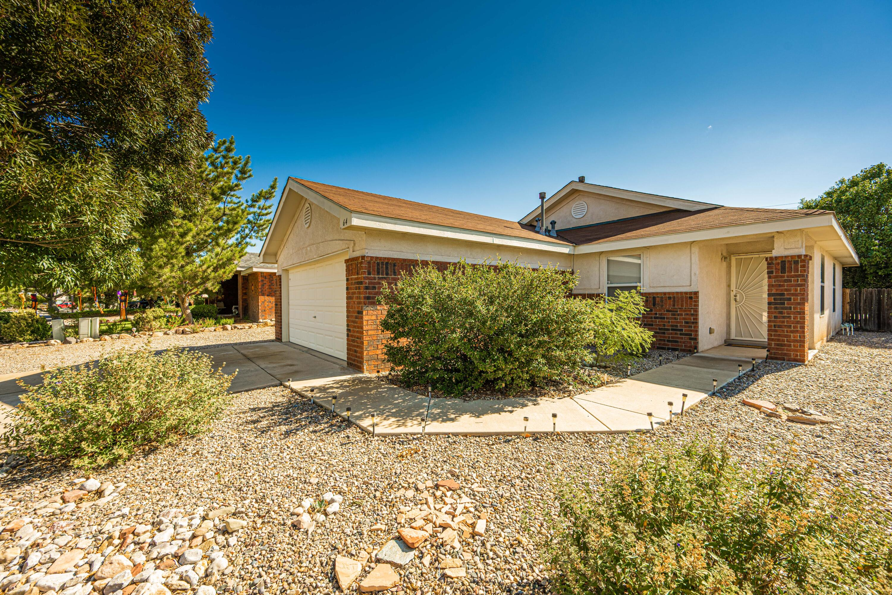 Cute home now available in the highly sought after neighborhood of Las Maravillas. Come see this three bedroom home with an open floor plan, covered patio and privacy! No homes neighboring the back yard!