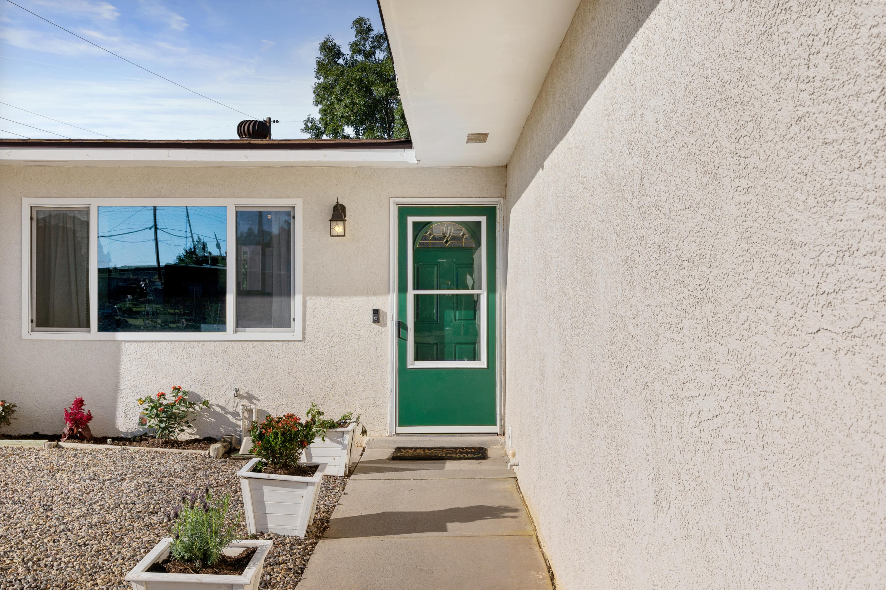 Welcome to this beautifully updated Paradise Hills property!  The layout offers 3 bedrooms, 2 bathrooms and a perfect office space.  The kitchen features updated Quartz countertops, white cabinets and slate appliances.  This quarter acre lot provides backyard access (RV parking), a super fun finished shed (with electric) and a perfect patio area for outdoor entertainment.  The home was converted to refrigerated air in May 2021 and the roof was replaced in December of 2017.  Contact your favorite Realtor for a showing!
