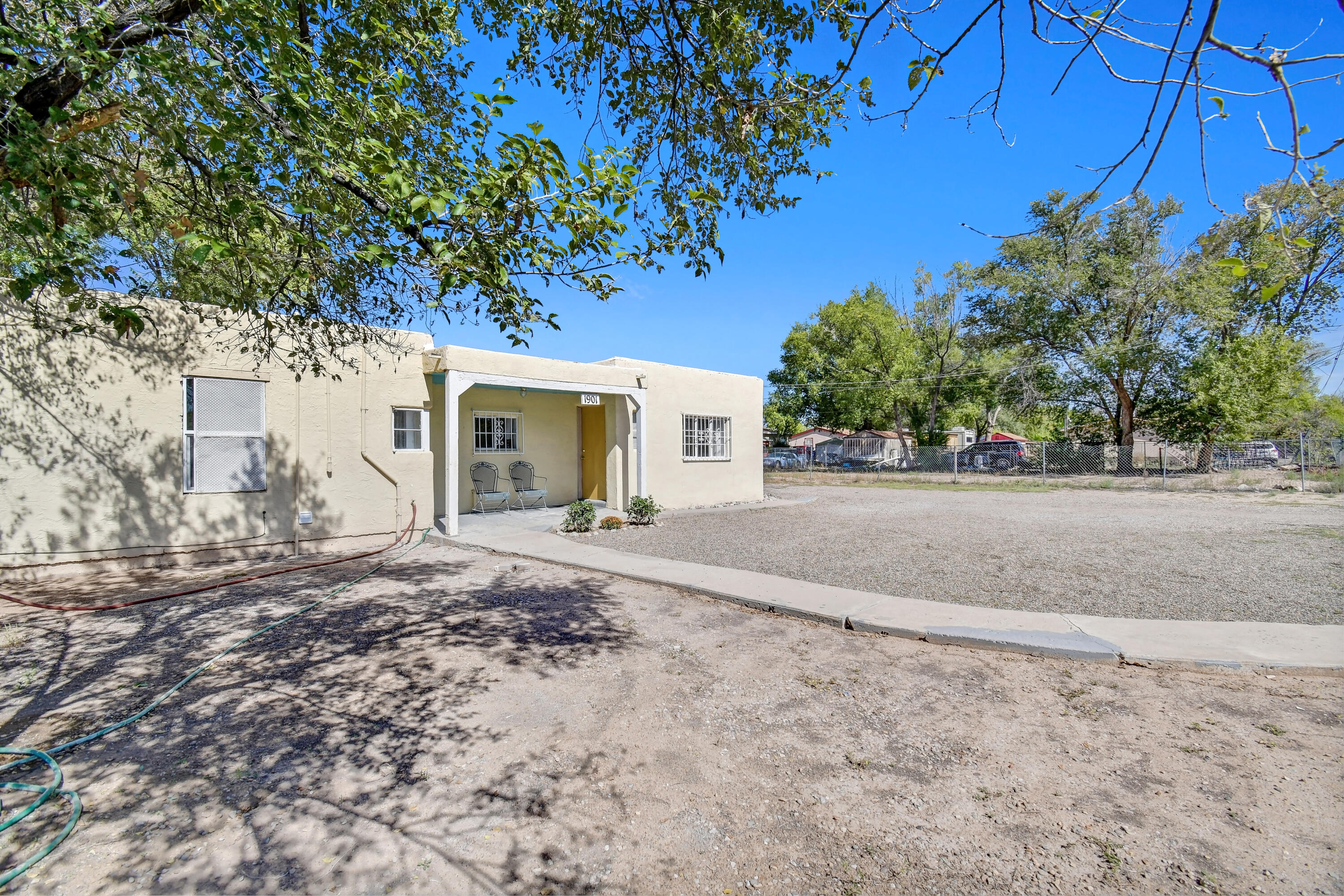 Very nice cozy home for the first time home owner, someone right sizing or an investment home. New flooring, fresh paint, on a quiet well established neighborhood sitting on .25 of an acre. Backyard access fenced yard. Bring your boats, campers, trucks. Lots of room for your possessions.