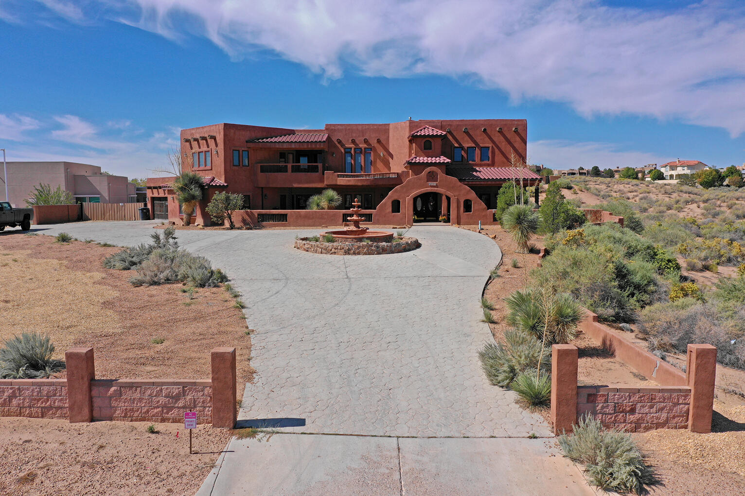 ***GREAT Home w/ Plenty of Room To Roam! Public PAVED Road Leads You To Your New Home That Sits On A Full Acre Corner Lot w/ Sandia Mtn VIEWS!  Special (SU) Zoning* Possible Bed & Breakfast Opportunity* Amenities Include 2x6 Construction, Vigas & Latillas, 2+ Master Bedrooms (1 on the Main Floor), Home Theatre, Game Room, Multiple Custom Fireplaces & So Much More!*  Awesome Outdoor Entertainment Spaces  Include Covered Portals, Waterfall, An Ingound Gunite Pool, Hot Tub, KIVA FP And Even An Outdoor Kitchen* Call For A Private Showing Today!