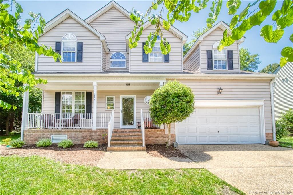 Rare find in popular Greensprings West. Corner lot backing to greenspace. Open design with updated kitchen. Granite tops and stainless appliances. 5 potential bedrooms.