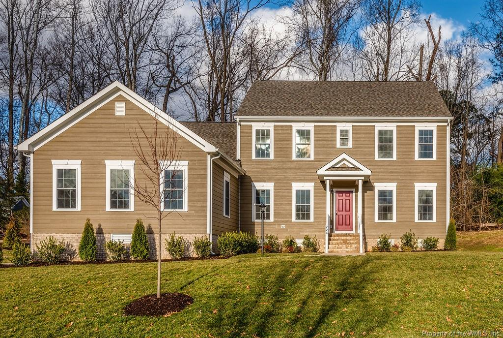 New construction & great location providing easy access to Longhill Rd. & Hwy 199 along with everything Westbury Park has to offer: newest community pool, 6 clay tennis courts, volleyball, basketball court, tot lot, softball field, walking trails & great large pond for fishing within a very short walk. Wonderful open floor plan providing exceptional 1st floor. living with 2 bedrooms and 2 full baths on the main floor as well as family room, formal dining room, & breakfast area. The 2nd floor offers 3 more bedrooms, 2 full bathrooms, play room & massive walk-in, floored attic for storage.