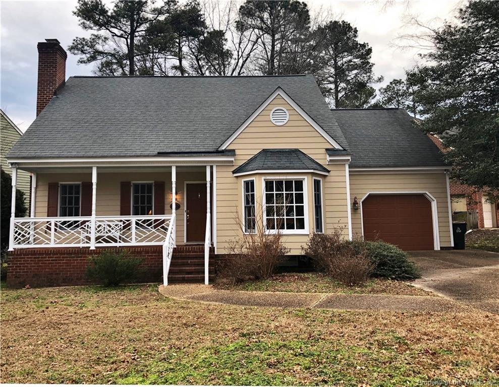 Charming Cape Cod in quite community within popular Windsor Forest. Low maintenance yard with fenced in rear yard. First floor master bedroom. Two spacious guest bedrooms on the second level with a large bonus space. Many upgrades and recent improvements.