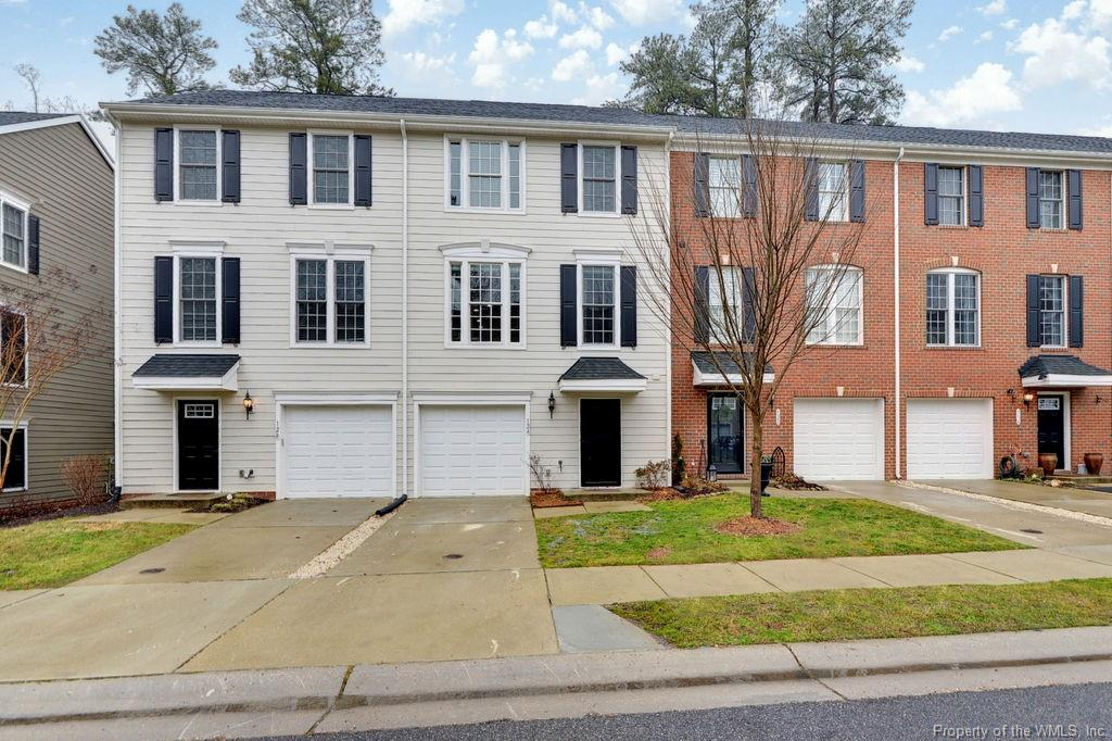 Beautiful Townhome in the heart of Williamsburg. Colonial Williamsburg is only 1.3 Miles away. This model has an oversized bonus/family room downstairs with a half bath or could be used as 4th bedroom. Upgraded, immaculate hardwood flooring in the downstairs entryway and on the main level. Kitchen has granite counters and a custom black splash. All stainless steel appliances are energy star quality. This model has the extra recessed lighting throughout, upgraded lighting fixtures in the kitchen and family room. In addition you have ceiling fans throughout the home and in all bedrooms. Custom mechanical blinds for privacy in the family room along with a large composite deck overlooking the woods. Upgraded tile floors in both full baths and an upgraded tile shower in primary Bathroom. This model has all the bells and whistles. Don't miss out!  Sale subject to a ratified contract with contingencies. Owner wishes to continue to show the property and may consider backup/other offers.