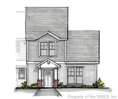 Brand new townhomes in New Town's Shirley Park neighborhood! The Chesterfield offers open living with detached garage and a yard, all facing green space and adjacent to wetlands protected woods! Versatile floor plan with a first-floor primary bedroom suite and two additional large bedrooms upstairs with additional attic eaves storage space. Standard features include engineered oak or luxury vinyl floors in the main living areas + powder bath, ceramic tile floor at full baths with ceramic surround shower at owner's shower & granite counters at kitchen. Other luxury features included standard are crown molding in living areas, trim at all windows & hardiplank type exterior siding. No need to upgrade! Association includes lawn maintenance, pool & trash collection. Walk to restaurants, movie theater, shopping, grocery stores and all the fun and convenience New Town offers. Take the walking path over the bridge spanning across the woods to the pool and playground. Or relax in your courtyard leading to the 2-car garage. Come check out this fantastic opportunity to build your home the way you like it in New Town!