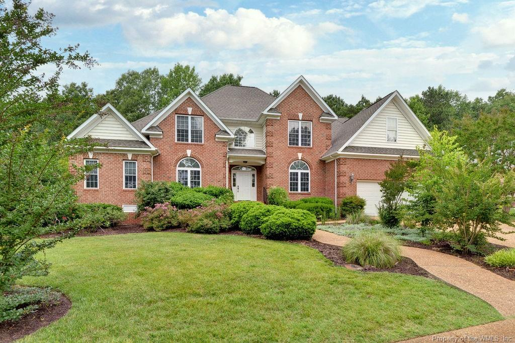 SPACIOUS AND GRACIOUS in sought after Greensprings West.  Fabulous location in the neighborhood on a 0.29 acre home site with wooded privacy overlooking the golf course AND conveniently located near the pool and clubhouse.   This 3,800 sq ft 5 BR, 4.5 BA is just waiting for its new owner!!  First floor features generously sized Primary BR and updated luxury  BA PLUS an additional BR with ensuite BA.  Soaring ceilings, beautiful hardwood flooring , Formal LR and DR. Gourmet kitchen with oodles of cabinets and counter space with breakfast room and open to the Great Room.  Second floor has large loft area, 3 BR's, 2 BA's, BONUS ROOM and amazing walk in attic.   Don't miss this wonderful home.